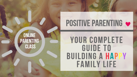 Positive parenting online class