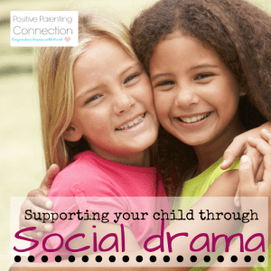 helping children with social drama