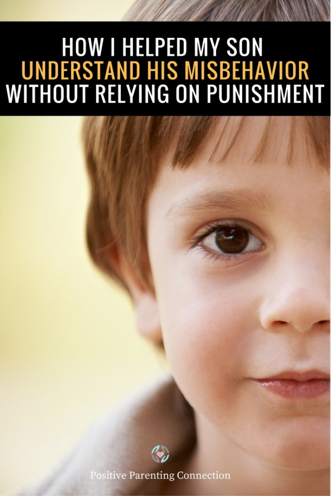 helping child change misbehavior without punishment