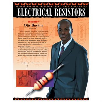 african american inventions that changed our world 10 piece poster set
