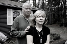 Joyce et Kevin Lucey, les parents de Jeff © O.Morel