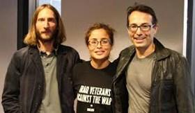 Maël, Wendy et Olivier Morel
