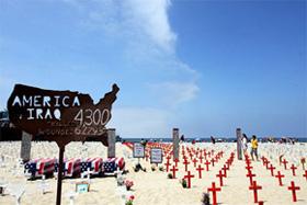 Le Mémorial associatif de Santa Monica. © Olivier Morel