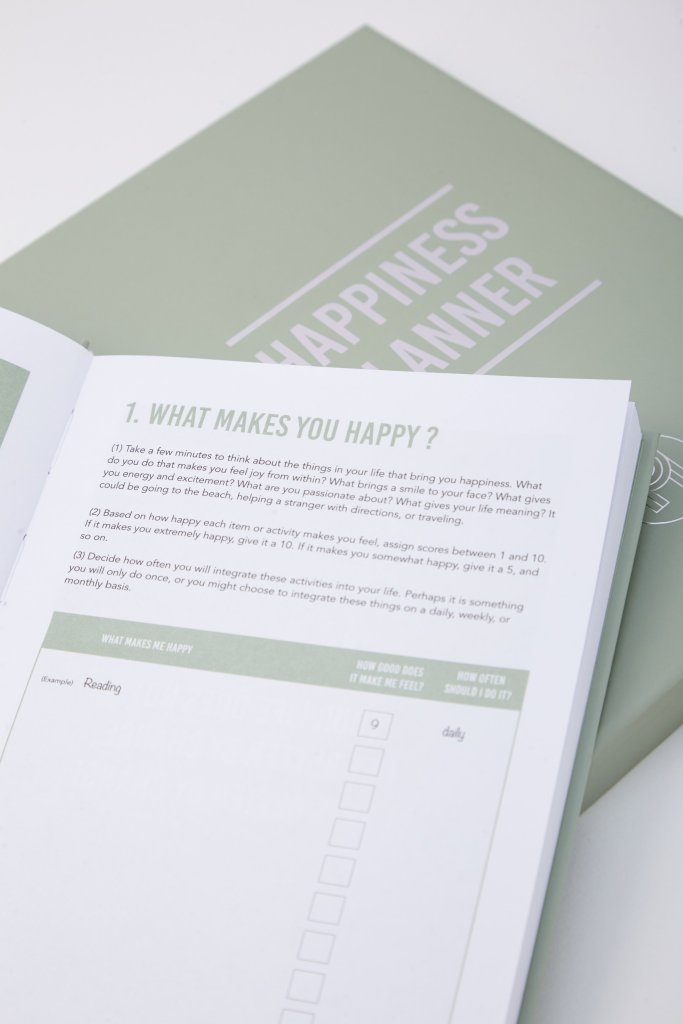 structure your happiness - 100 days Happiness Planner