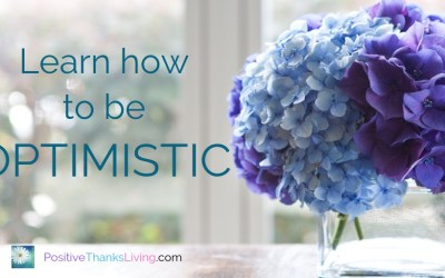 Learn how to be optimistic.