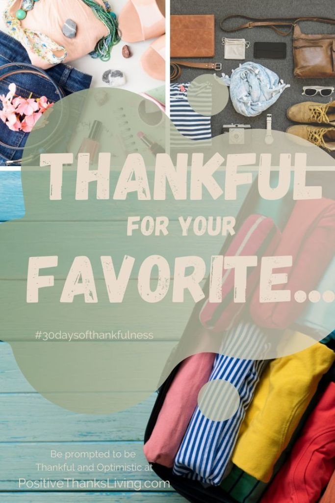 Thankful for your favorite wearable - 30 days of thankfulness - taking note! Day 9