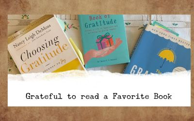 Grateful to Read a Favorite Book