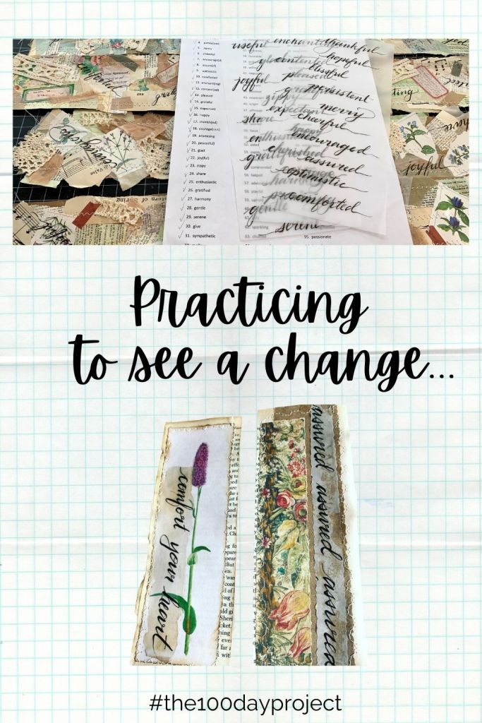 Practicing to see a change