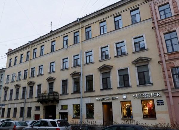 Санкт-Петербург, Столярный переулок, 4 | Последний адрес