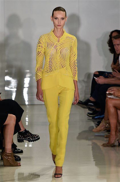 Ralph Rucci at New York Fashion Week Spring 2015 Ralph Rucci
