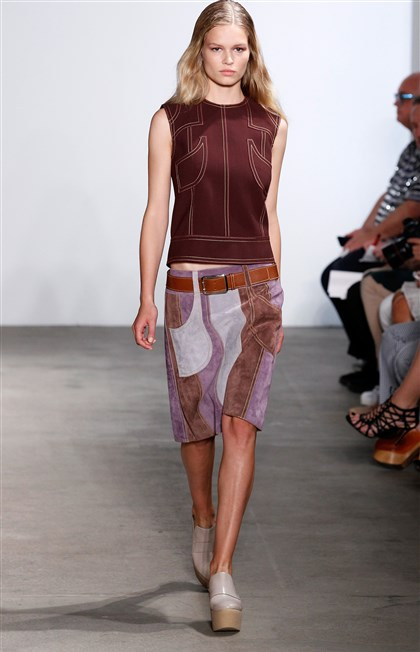 Derek Lam at New York Fashion Week Spring 2015 Derek Lam