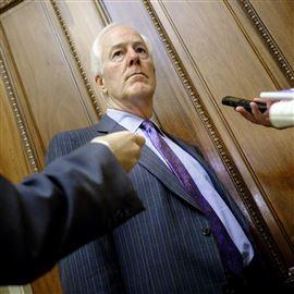 Senate Majority Whip John Cornyn, R-Texas.