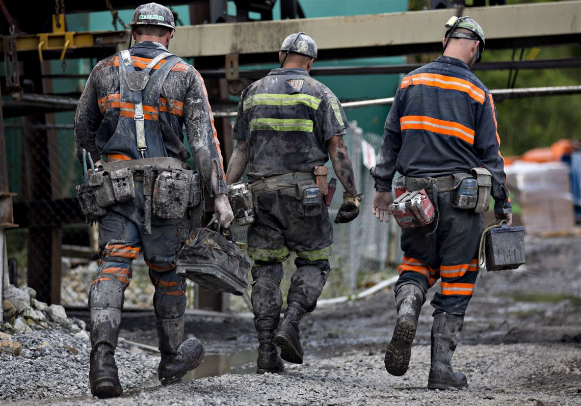 Image result for U.S. Coal Miners, photos, 2018