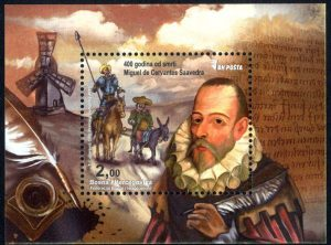 400 Years Of Cervantes Saavedra Miguelde's Death
