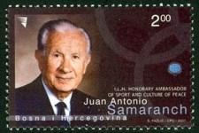 Juan Antonio Samaranch, ILH, Pocasni Ambasador Sport, Kulture I Mira