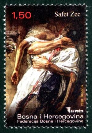 Zagrljaj – Umjetničko Djelo Safeta Zeca