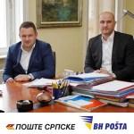 Dogovoren Nastavak Uspješne Saradnje BH Pošte I Pošta Srpske