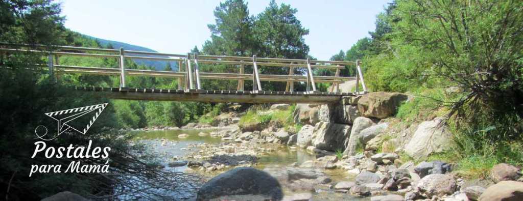 Puente Abi Valle Aísa - Postales para Mamá