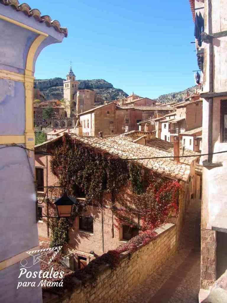 Albarracín Casa Azul - Postales para Mamá