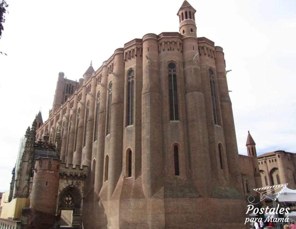 Tarn Catedral Albi - Postales para Mamá