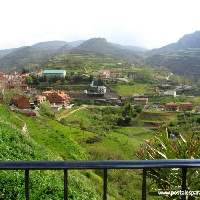 Viguera Cameros Rioja - Postales para Mamá