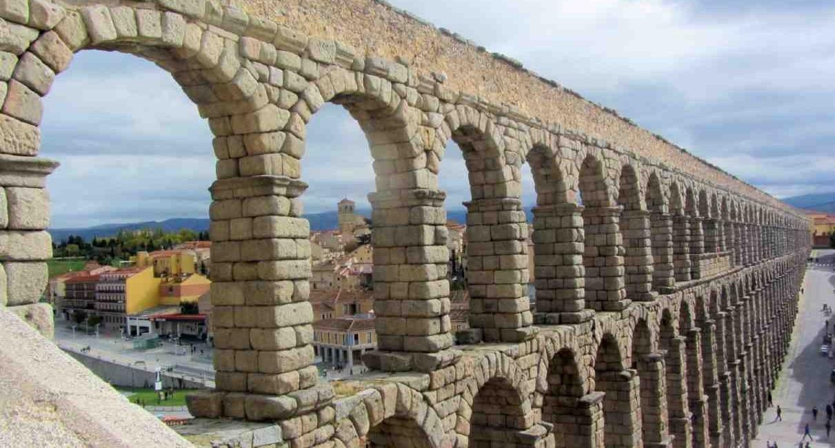 Segovia Acueducto - Postales para Mamá