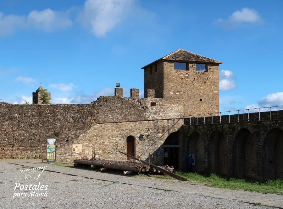 Castillo Nabata Aínsa - Postales para Mamá