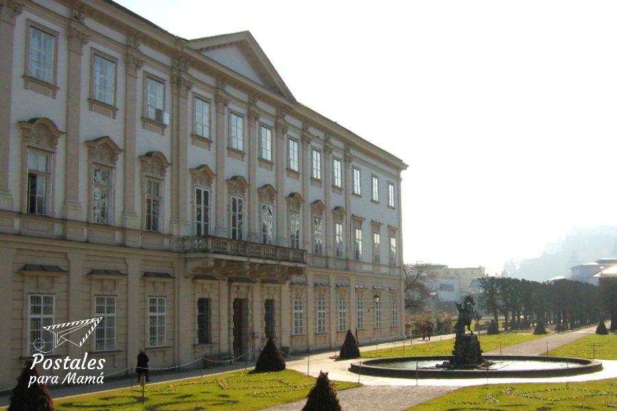 Salzburgo Palacio Mirabell - Postales para Mamá