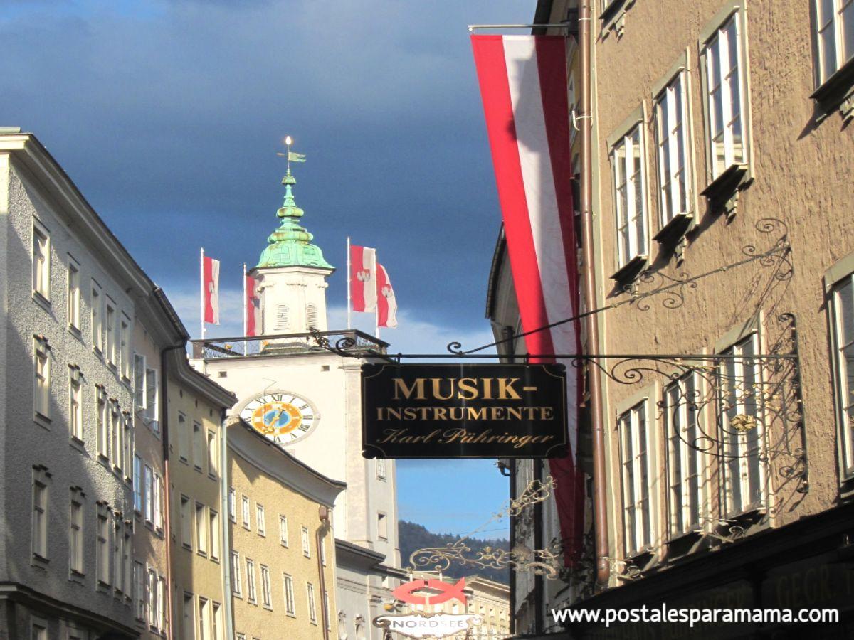 El sonido de Salzburgo- Postales para Mamá