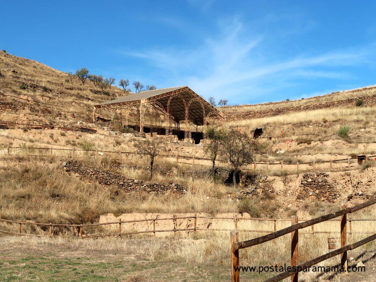 Bílbilis ciudad romana Calatayud - Postales para Mamá