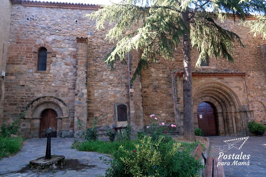 Iglesia Añón Moncayo - Postales para Mamá
