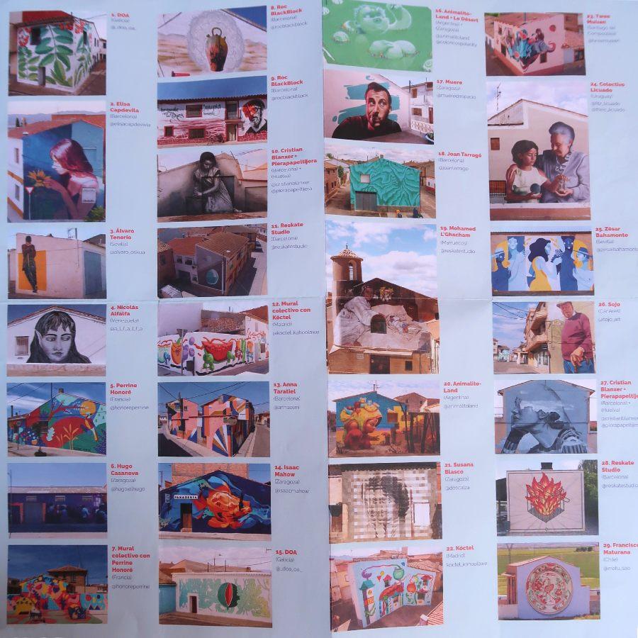 Lista Murales Alfamén - Postales para Mamá