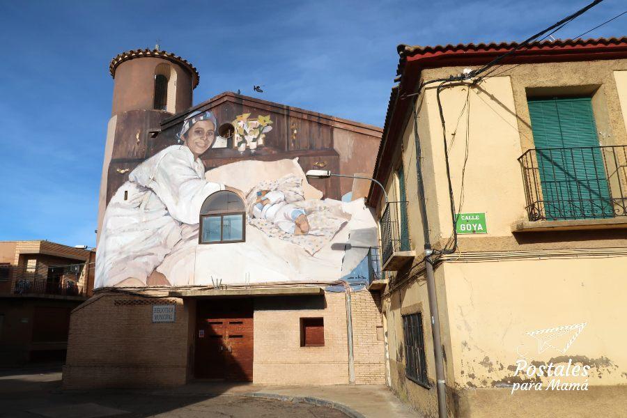 Mural 19 Alfamén - Postales para Mamá