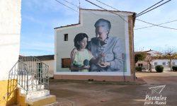 Mural 24 Alfamén - Postales para Mamá