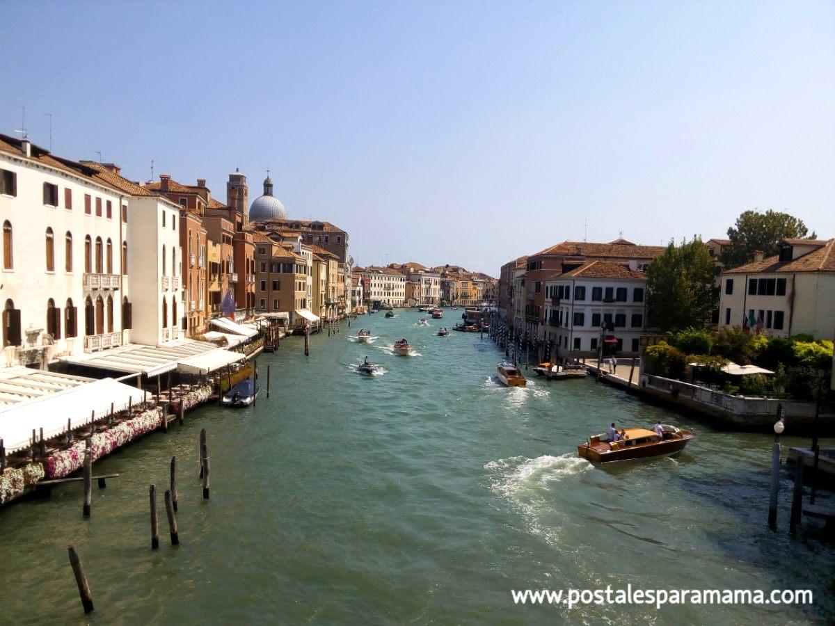 Venecia sin mí - Postales para Mamá