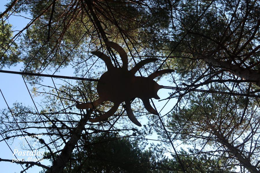 Araña Laspaúles - Postales para Mamá