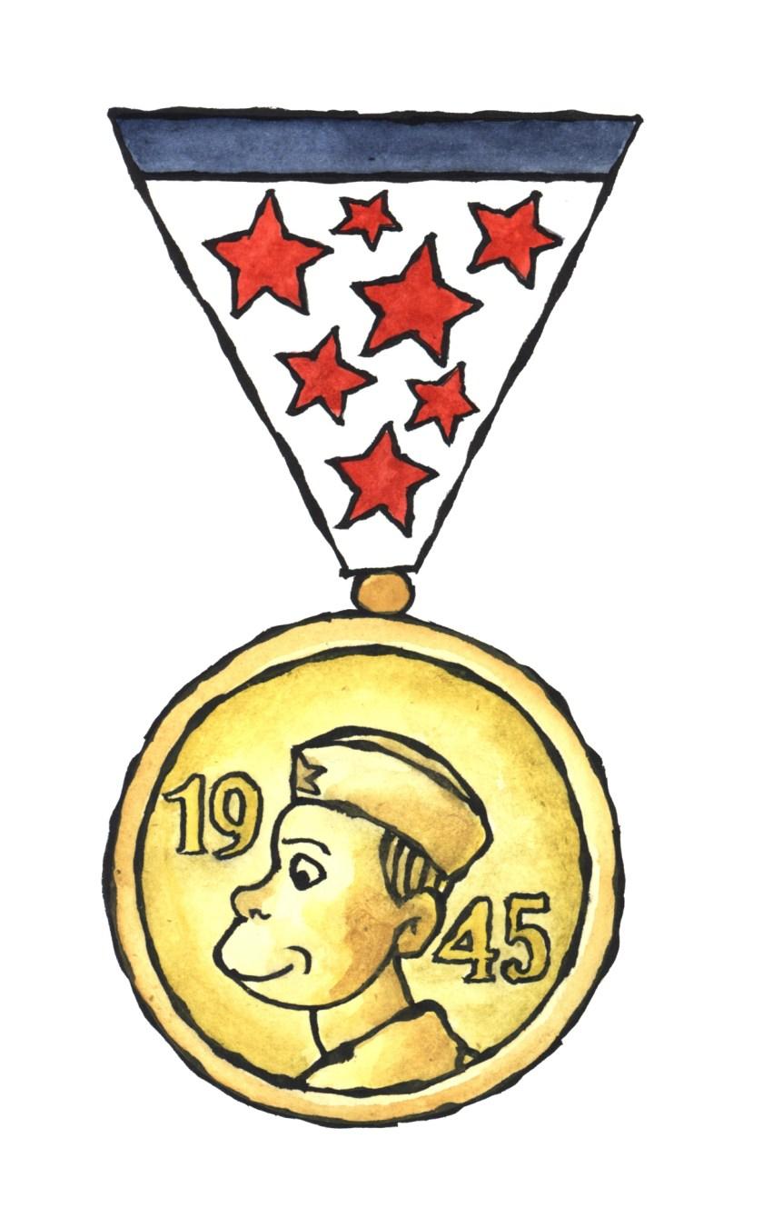 """""""medaglia al coraggio"""""""