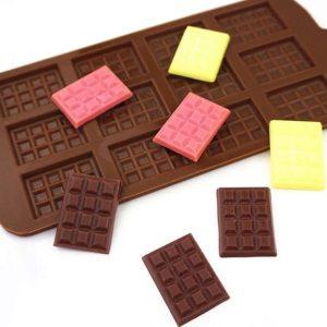 Nelepivá silikónová forma na čokoládu - 12 tabličiek 1
