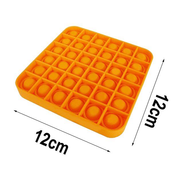 Pop It Fidget senzorická hračka s bublinkami na odbúranie stresu (viac druhov) 30
