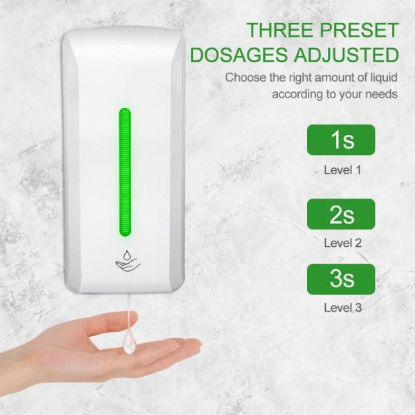 Automatický dávkovač mydla s bezdotykovým senzorom, dezinfekcia rúk (850 ml)  4