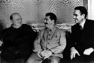 Churchill, Stalin, and Harriman