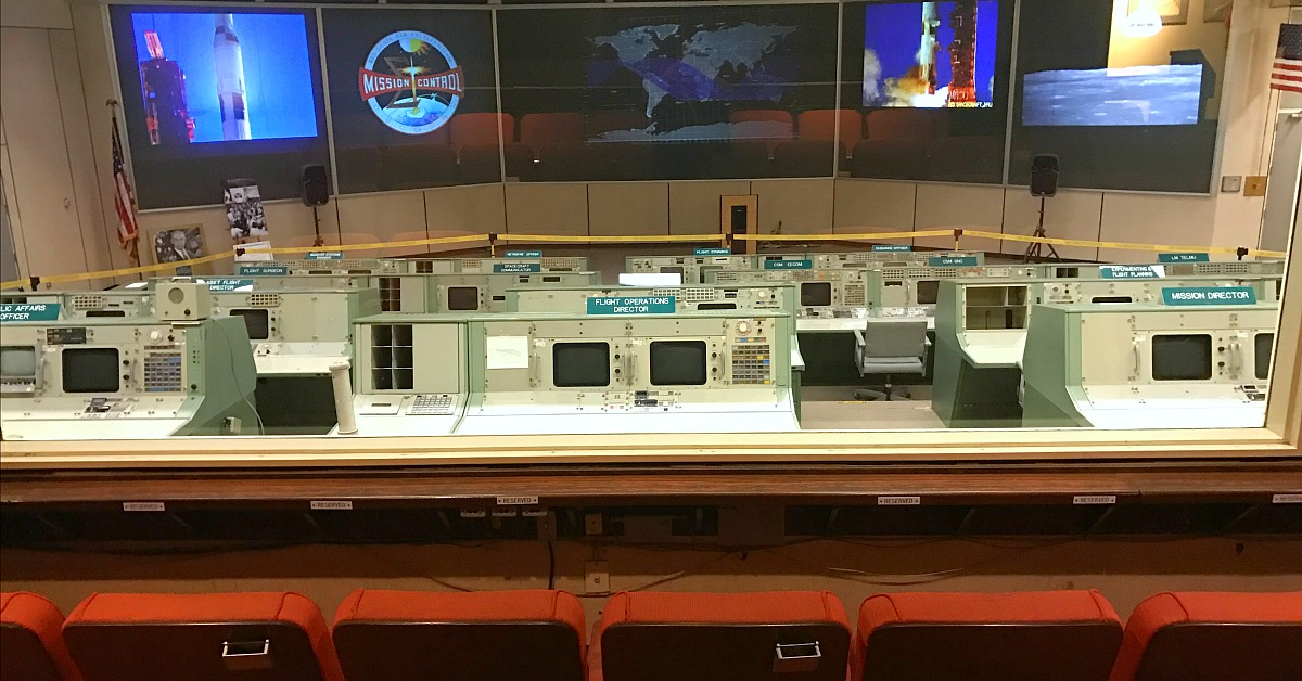 Apollo Mission Control Space Center Houston