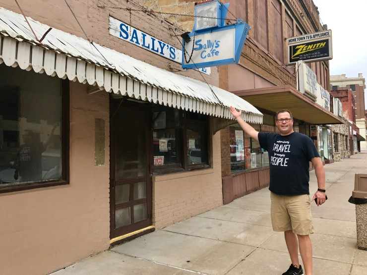 Sally's Cafe, Pawhuska, Oklahoma