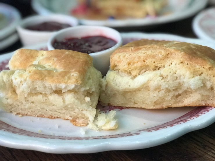 Pioneer Woman Mercantile biscuits, Pawhuska, Oklahoma