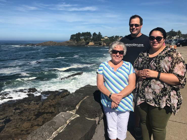 Whale watching, Depoe Bay, Oregon