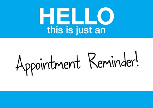 7 Brilliant Appointment Reminder Direct Mail Postcard Examples