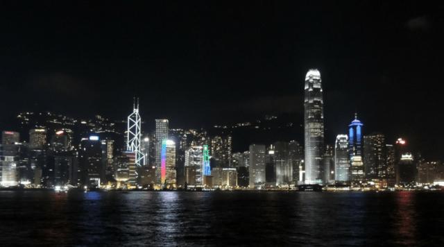 Hong Kong - Victoria Harbour - Kowloon
