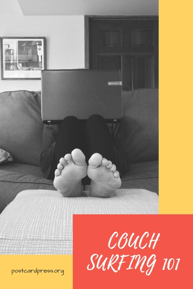 Check out our latest post about #couchsurfing