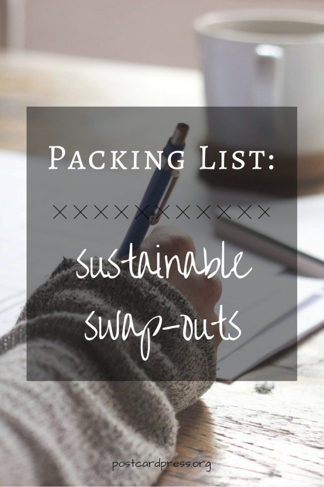 Packing List: Sustainable Swap-Outs - Pinterest