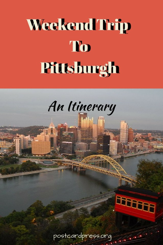 Postcard Press: Planning a trip to Pittsburgh? Jax has your trip covered in this awesome itinerary! #travelblog #travelUSA #pittsburgh